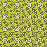 Netrivail abstract floral geometric pattern, background, vector seamless. Simple abstract geometric pattern, vector seamless from abstract forms in green and vector illustration