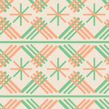 Simple Abstract geometric vector seamless pattern vector illustration