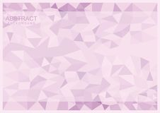 Simple Abstract Geomteric Background. Simple triangle geometric background for your design Royalty Free Stock Photo