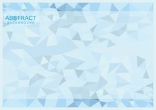 Simple Abstract Geomteric Background. Simple triangle geometric background for your design Stock Photos