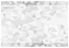 Simple Abstract Geomteric Background. Simple triangle geometric background for your design Royalty Free Stock Images