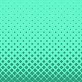 Simple abstract halftone rounded square pattern background design with diagonal squares Royalty Free Stock Images