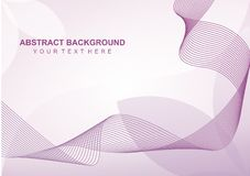 Simple Abstract line Background. Simple lne background for your graphic design Royalty Free Stock Photos