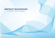 Simple Abstract line Background. Simple lne background for your graphic design Royalty Free Stock Photography