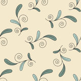 Simple abstract pattern design on beige background Stock Images