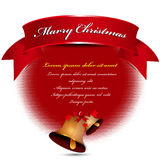 Simple abstract vector christmas background Royalty Free Stock Photo
