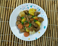 Simple African Beef Stew Stock Photos