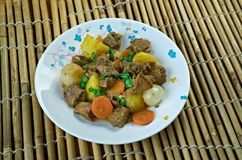 Simple African Beef Stew Royalty Free Stock Image