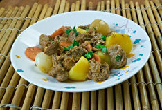 Simple African Beef Stew Stock Image