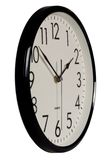 Simple analog clock Royalty Free Stock Photo
