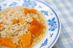 Simple And Healthy Porridge Stock Photography
