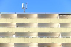 Functional architecture. Simple appartement block for different concepts Royalty Free Stock Images