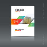 Simple architecture brochure style. Building Flyer promotion. Royalty Free Stock Image