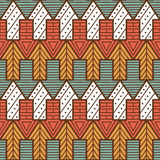 Simple arrows pattern. Royalty Free Stock Image
