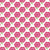 Simple baby pattern. Cute seamless wallpaper. Doodle little flower background. Royalty Free Stock Photos