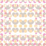 Simple background with hearts Royalty Free Stock Photo