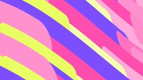 Simple background from minimalistic magical multicolored abstract bright inclined lines of waves of strips of geometric shapes. Ve. Ctor illustration royalty free illustration