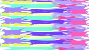 Simple background from minimalistic magical red-blue abstract bright blobs of inclined lines of waves of strips of geometric undul. Ating figures with sharp royalty free illustration