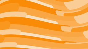 Simple background of minimalistic yellow orange abstract bright lines of waves of strips of geometric shapes horizontal in wavy fo. Rm. Vector illustration Stock Illustration