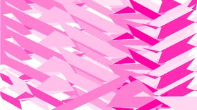 Simple background, texture of minimalistic pink abstract different carved sticking sharp different bright lines, geometric shapes. royalty free illustration