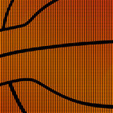 Simple basketball background Stock Photography