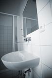 Simple bathroom Royalty Free Stock Images