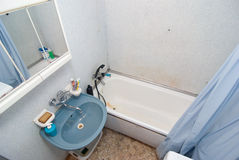 Simple bathroom. Picture of a simple bathroom Stock Image