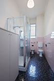 Simple bathroom interior. In normal apartment Royalty Free Stock Image