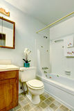 Simple bathroom interior Royalty Free Stock Photos