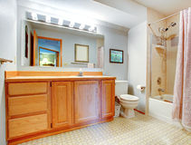 Simple bathroom interior Stock Photos