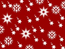 Merry Christmas decoration clean design Royalty Free Stock Images