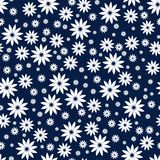 Simple and beauty flower seamless pattern. Vector illustration good for textile or paper wrapping print. Can be copied without any Stock Photo