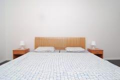 Simple bedroom Stock Image