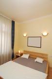 Simple bedroom Stock Photo
