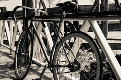 Simple bicycle Stock Image