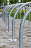 Simple bicycle parking Royalty Free Stock Images