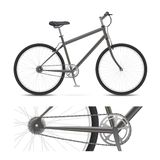 Simple Bike Royalty Free Stock Images
