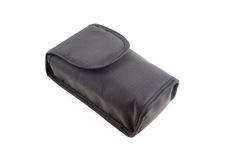 Simple black bag Royalty Free Stock Photography