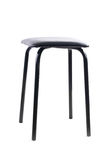 Simple black stool Stock Photos