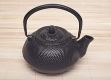 Simple Black Tea Pot Stock Images