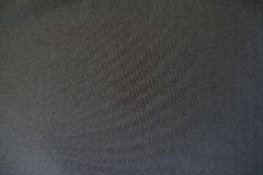 Simple black unprinted suiting fabric. From above Royalty Free Stock Image