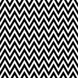 Black and White Chevron Pattern Stock Image