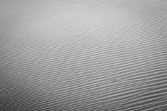 Simple black and white sand dune image. Royalty Free Stock Image