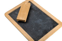Simple blackboard. On a white background Stock Photos