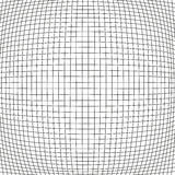 Simple bloat net background. Simple bulge net with black stripes on white background Stock Image