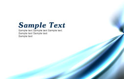 Simple blue background Stock Images