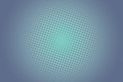 Simple Halftone Dotted Circles Background Stock Image