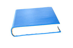 Simple blue hardcover Stock Photos