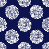 Simple blue pattern Stock Photos