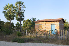 Simple Brazilian Village Home Architecture Stock Images